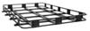 "Surco Safari Rack 5.0 Rooftop Cargo Basket for Thule Roof Racks - 84"" Long x 50"" Wide Black SPS5084-T400"