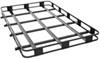 "Surco Safari Rack 5.0 Rooftop Cargo Basket for Yakima Roof Racks - 84"" Long x 50"" Wide Black SPS5084-Y400"