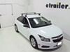 "SportRack Semi-Custom Roof Rack for Naked Roofs - Square Crossbars - Steel - 50"" Long Locks Included SR1010 on 2013 Chevrolet Cruze"