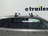 """SportRack Semi-Custom Roof Rack for Naked Roofs - Square Crossbars - Steel - 50"""" Long 50 In Bar Space SR1010 on 2013 Ford Edge"""
