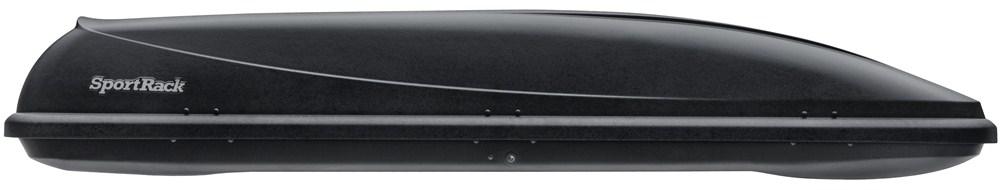 SportRack Horizon Rooftop Cargo Box - 11 cu ft - Black Small Capacity SR7011