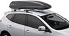 SportRack Horizon Rooftop Cargo Box - 11 cu ft - Black Aero Bars,Factory Bars,Square Bars,Round Bars,Elliptical Bars SR7011