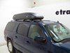 SportRack Horizon Rooftop Cargo Box - 17 cu ft - Black Passenger Side Access SR7017 on 2007 GMC Yukon XL