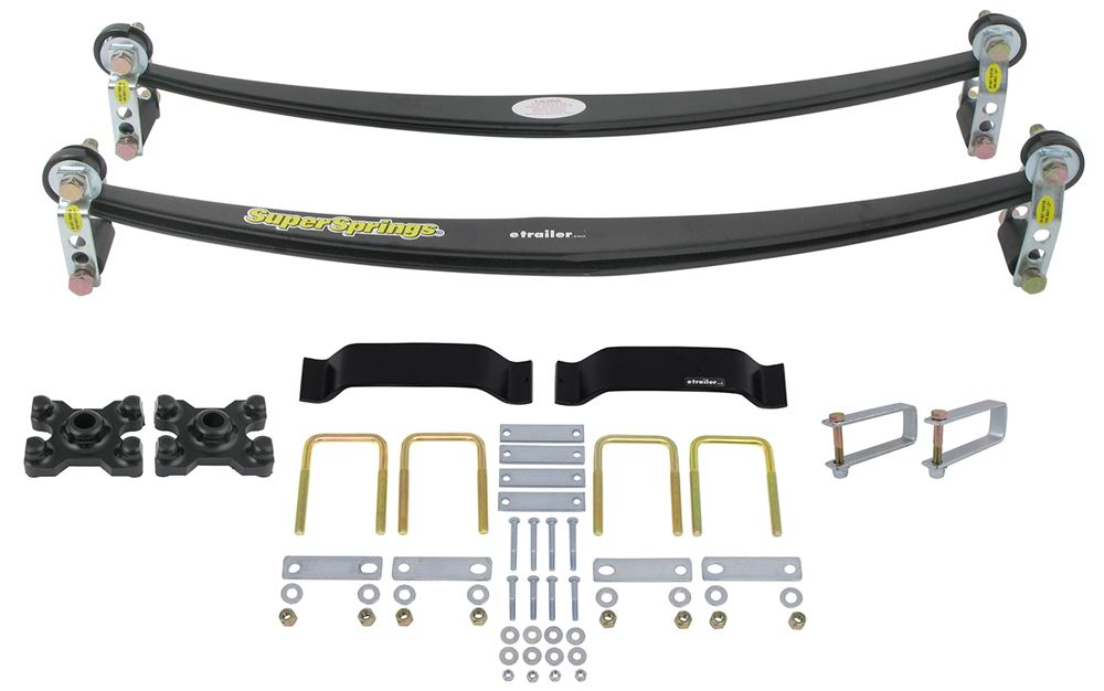 Vehicle Suspension SSA13MXKT - Leaf Springs - SuperSprings