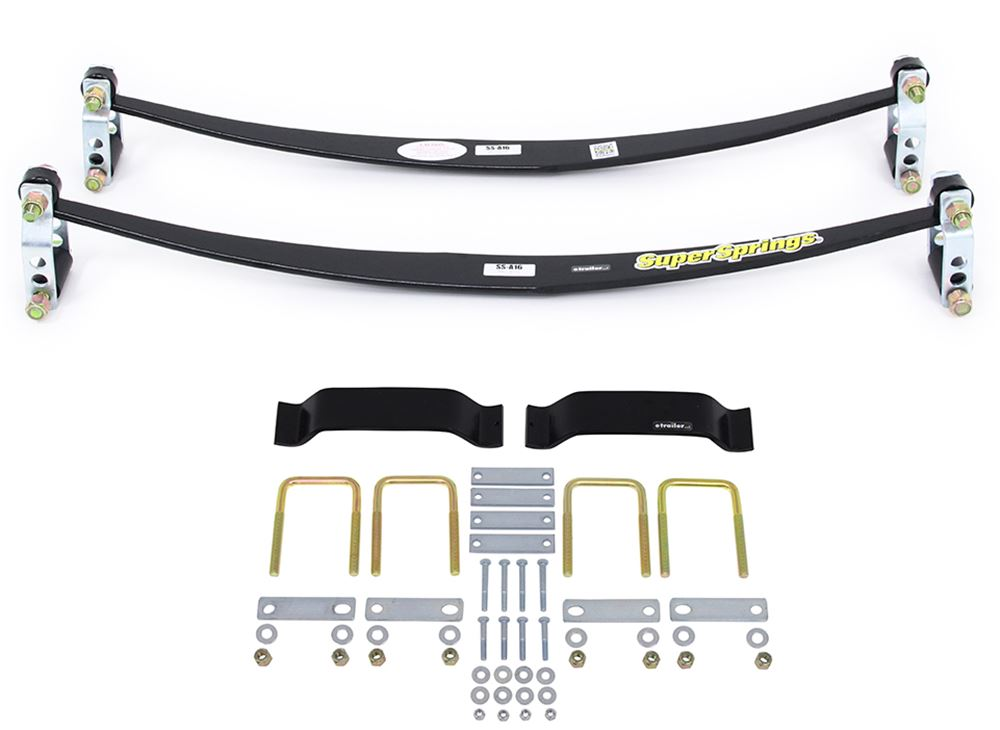 SSA16MXKT - Leaf Springs SuperSprings Vehicle Suspension