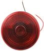Trailer Tail Light - Stop, Turn, Tail, License - Incandescent - Round - Red Lens - Driver Side Round ST25RB