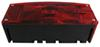 """Over 80"""", Rectangular Submersible Trailer Tail Light, 2 Wire, 7-Function, Right Hand 8L x 3W Inch ST26RPG"""