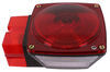 """Tail Light for Trailers Over 80"""" Wide - 8 Function - Incandescent - Square - Driver Side Non-Submersible Lights ST3RB"""