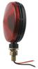 Optronics Single Face Trailer Tail Light - Stop, Turn, Tail - Round - Red Lens 4-1/2 Inch Diameter ST51RB