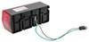 Optronics Rectangle Trailer Lights - ST66RPG