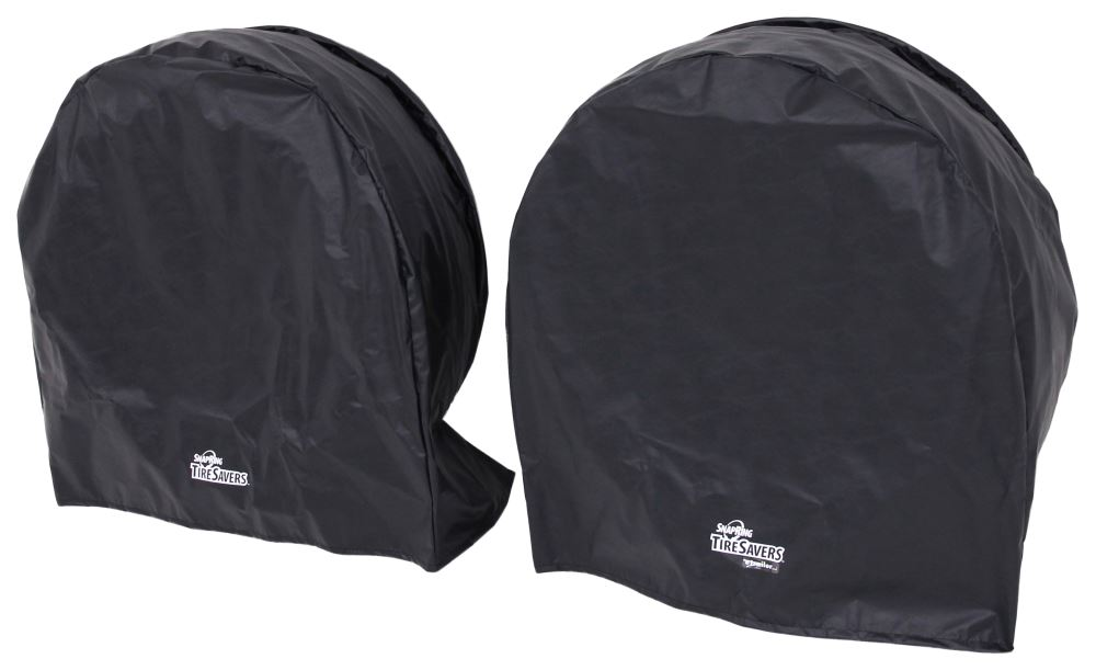 "SnapRing TireSavers Tire Covers - 33"" to 35"" Diameter - Black Vinyl - Qty 2 33 Inch Tires,34 Inch Tires,35 Inch Tires ST7003BK"