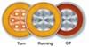 STL101ACB - Round Optronics Tail Lights
