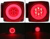 STL109RB - Surface Mount Optronics Trailer Lights