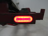GloLight LED Trailer Tail Light - Stop, Tail, Turn - Submersible - 22 Diodes - Oval - Red Lens Recessed Mount STL111RB