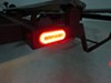 GloLight LED Trailer Tail Light - Stop, Tail, Turn - Submersible - 22 Diodes - Oval - Red Lens 6-1/2L x 2W Inch STL111RMB