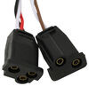 optronics trailer lights tail 7-1/2l x 3-1/2w inch