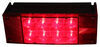 LED Combination Trailer Tail Light - 6 Function - Submersible - 12 Diodes - Passenger Side Stop/Turn/Tail,Side Marker,Side Reflector,Rear Reflector ST