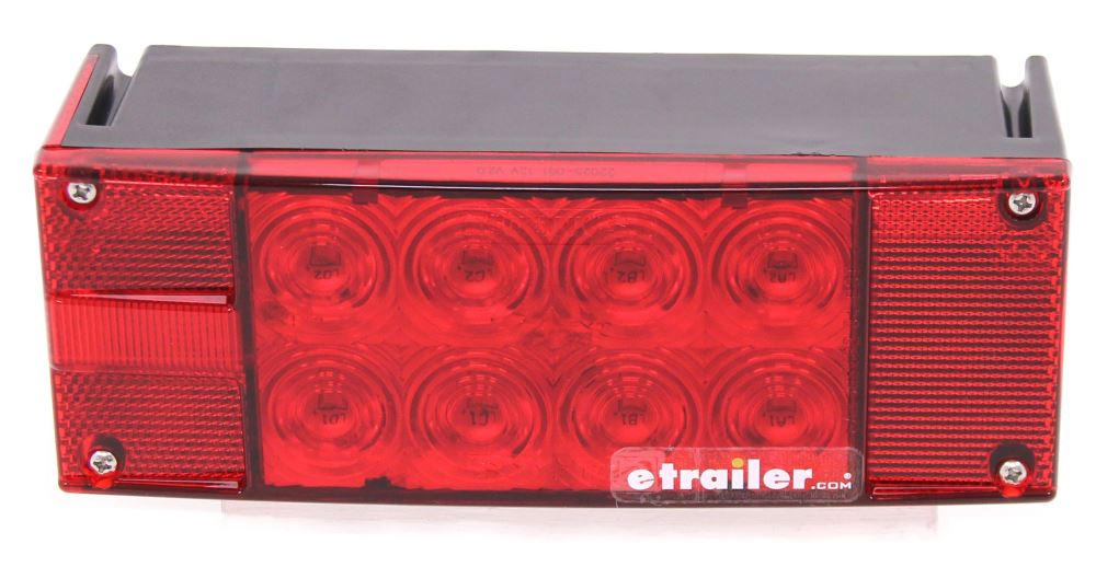 LED Combination Trailer Tail Light - 7 Function - Submersible - 18 Diodes - Driver Side Surface Mount STL15RB