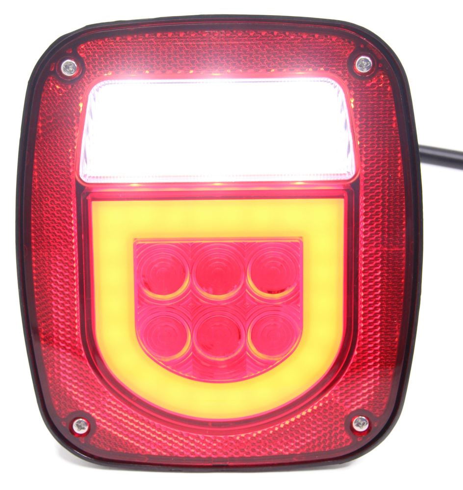STL161RLB - Red and White Optronics Tail Lights