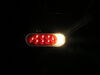Fusion LED Trailer Tail Light - Stop, Tail, Turn, Backup - Submersible - Oval - Red/Clear Lens Recessed Mount STL211RB