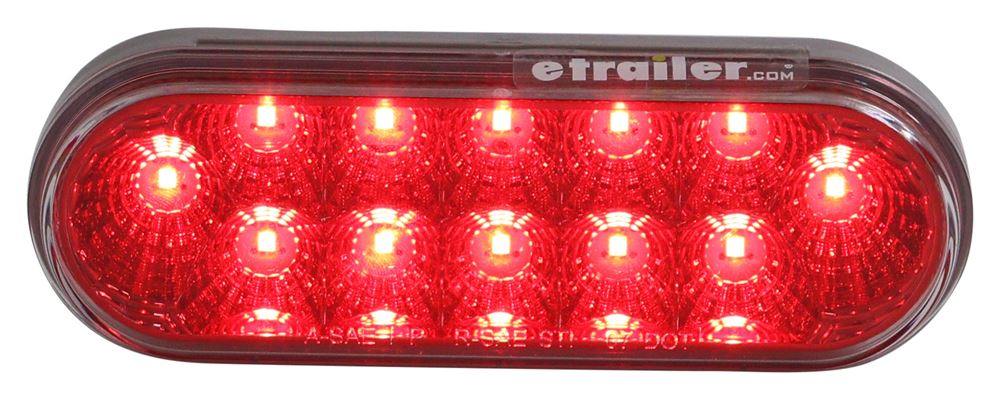 Optronics Oval Trailer Lights - STL22CCRB
