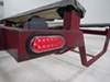 Tinted Miro-Flex LED Trailer Tail Light - Stop, Tail, Turn - Submersible - 12 Diodes - Clear Lens Submersible Lights STL22CCRB