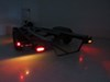 Miro-Flex LED Trailer Tail Light - Stop, Tail, Turn - Submersible - 12 Diodes - Clear Lens Red STL22RCB