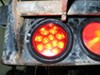 Miro-Flex LED Trailer Tail Light - Stop, Turn, Tail - Submersible - 12 Diodes - Round - Red Lens Stop/Turn/Tail STL23RB
