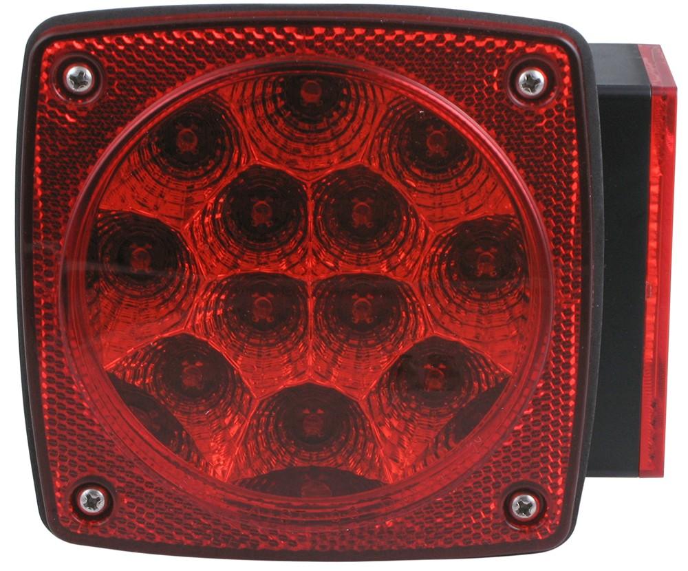 Optronics Red Trailer Lights - STL28RB