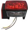 optronics trailer lights stop/turn/tail side marker reflector rear license plate submersible stl29rb