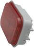 Optronics LED Trailer Tail Light - Stop, Turn, Tail - Submersible - 12 Diodes - Red Lens - Qty 1 Submersible Lights STL33RB