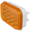 optronics trailer lights tail submersible miro-flex led turn signal and parking light - 16 diodes amber qty 1
