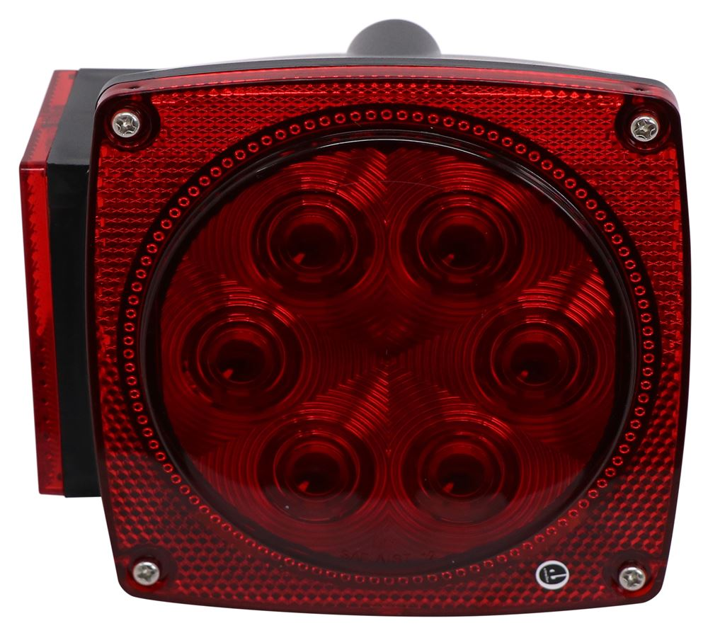 Optronics Stop/Turn/Tail,Side Marker,Side Reflector,Rear Reflector,License Plate Trailer Lights - STL39RB