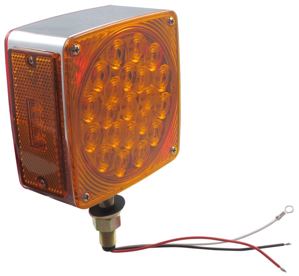 Trailer Lights STL53ARPB - Red and Amber - Optronics