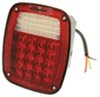 Jeep-Style LED Combination Trailer Tail Light - 4 Function - 52 Diodes - Passenger Side Non-Submersible Lights STL60RB