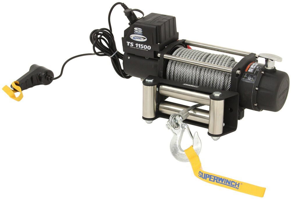 Electric Winch SW1511200 - Plug-In Remote - Superwinch