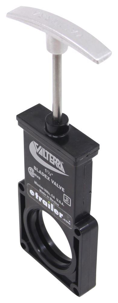 Valterra T1001VPM Bladex 1-1//2 Waste Valve Body with Metal Handle