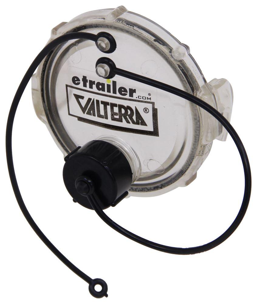 "Valterra T1020-1 3/"" Waste Valve Cap with Gray Water Drain"