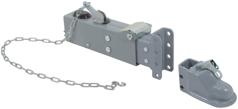 "Titan Adjustable-Channel Brake Actuator - Painted - Drum - 2-5/16"" Ball - Weld On - 12,500 lbs Drum Brakes T1890900"