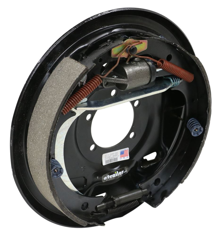 "Dexter Uni-Servo Hydraulic Trailer Brake Assembly w/ Parking Brake Lever - 12"" - Right Hand 6000 lbs T2351200"