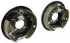 """Titan Hydraulic Brake Kit - Free Backing - 10"""" - Left and Right Hand Assemblies - 3,750 lbs Free Backing T4071600-500"""