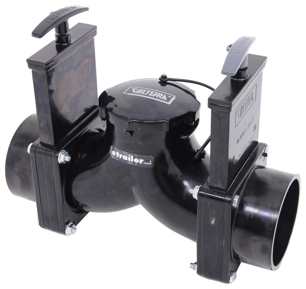 T84 - Double Waste Valve - Manual Valterra Sewer Elbow