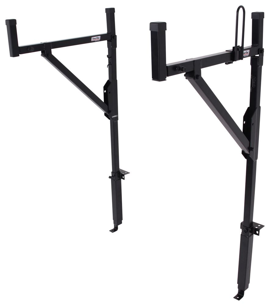 Thule TracRac Contractor Truck Bed Ladder Rack - Side Mount - Steel - 250 lbs 2 Bar TH14750