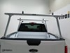 Thule TracRac TracONE Truck Bed Ladder Rack - Fixed Mount - 800 lbs - Silver 2 Bar TH27000XT on 2015 Ford F-150