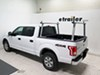 Thule TracRac TracONE Truck Bed Ladder Rack - Fixed Mount - 800 lbs - Silver Fixed Rack TH27000XT on 2016 Ford F-150