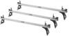 Thule TracRac TracVan Van Ladder Rack - 3 Bar - 750 lbs No-Drill Application TH29056XT