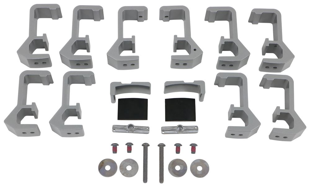 Toyota Tacoma Mount Kit w/ Toolbox Mounts for Thule TracRac TracONE Ladder Rack - 2016 Mounting Kit TH41501