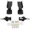 timbren trailer leaf spring suspension axles axle-less system - spindle w/ brake flange regular tires 7k