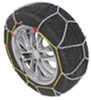 Titan Chain Alloy Snow Tire Chains - Diamond Pattern - Square Link - 1 Pair Steel Square Link TC1510