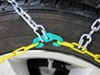 Titan Chain Alloy Snow Tire Chains - Diamond Pattern - Square Link - 1 Pair No Quick Release TC1515
